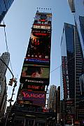 Times Square Digital Art Acrylic Prints - Times Square Acrylic Print by Rob Hans