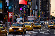 Theater District Prints - Times Square, Theatre District, Manhattan, New York, Usa Print by Ben Pipe Photography