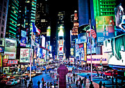 42nd Street Digital Art - Times Square by Tim Eisenhauer