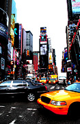 Anthony Jensen Acrylic Prints - Times Square Vibrants  Acrylic Print by Anthony Jensen
