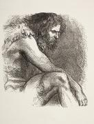 Timon In His Cave From Timon Of Athens Print by Ken Welsh