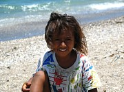 Third Countries World Prints - Timorese Child Print by Diane Height