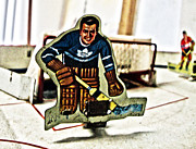 Hockey Player Photos - Tin Goalkeeper by Nathan  Brend