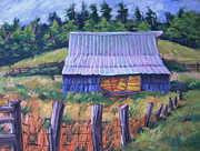 Haybales Pastels - Tin Top by Barbara Richert