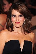 Benefit Prints - Tina Fey At Arrivals For American Woman Print by Everett