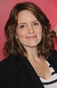Upfronts Tv Television Network Presentation Posters - Tina Fey At Arrivals For Nbc Upfront Poster by Everett