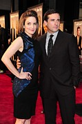 Sheath Dress Prints - Tina Fey Wearing A Christian Cota Print by Everett