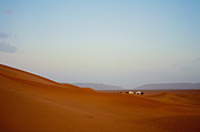 Moroccan Photos - Tinfou dunes by Nabucodonosor Perez