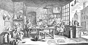 18th Century Prints - TINSMITHS, 18th CENTURY Print by Granger
