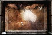 Moments Digital Art Posters - Tiny Angel Poster by Yvonne Emerson