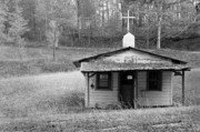 Clapboard House Photos - Tiny Church by Arni Katz
