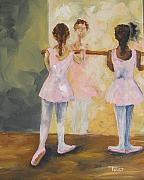 Dancer Paintings - Tiny Dancers  by Torrie Smiley