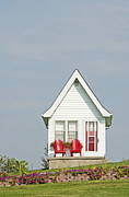 Kingston Prints - Tiny House Exterior Print by Marlene Ford
