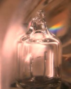 Breakable Art - Tiny Lightbulb Magnified by Yali Shi