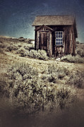 Run Down Shack Prints - Tiny Shack Print by Jill Battaglia