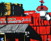 Seville Painting Prints - Tio Pepe Print by Colleen  Auxier