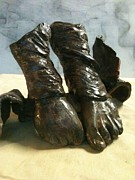 Dancer Sculptures - Tippy Toes by Holly Suzanne Filbert