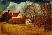 Barns Digital Art Prints - Tired Print by Lois Bryan