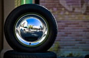 Tyre Art - Tired Reflections by Sarita Rampersad