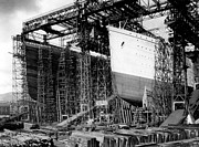 1912 Photos - Titanic and Olympic 1911 by Stefan Kuhn