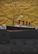 1907 Digital Art Prints - Titanic centennial Print by Stephane Le Blan