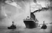 1912 Photos - Titanic by Chris Cardwell