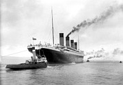1912 Photos - Titanic in Southhampton by Stefan Kuhn