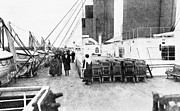 Titanic Photos - Titanic: On Deck, 1912 by Granger