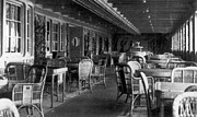 Titanic Photos - Titanic: Parisian Cafe, 1912 by Granger