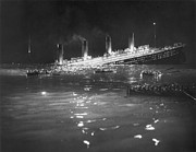 1912 Photos - Titanic: Re-creation, 1912 by Granger