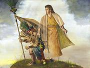 Lds Painting Originals - Title of Liberty by Jeff Brimley