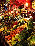 Michael Photo Framed Prints - Tlaquepaque Market Stall Framed Print by Olden Mexico