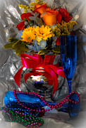 Stemware Photos - To 2012 by DigiArt Diaries by Vicky Browning