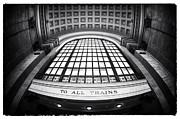 Union Station Metal Prints - To All Trains Metal Print by John Rizzuto