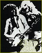 Jimmy Page And Robert Plant Art - To Be A Rock And Not To Roll by Haley Sullivan