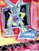 Live Art Pastels Prints - To be a Star Print by Levi Glassrock