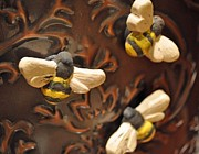 Whimsical Art Ceramics - To Bee or Not To Bee by Amanda  Sanford