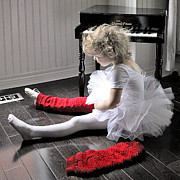 Child Ballerina. Photos - To Dance Is To Dream by Denise Wilkins