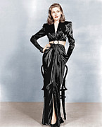 Slit Dress Framed Prints - To Have And Have Not, Lauren Bacall Framed Print by Everett