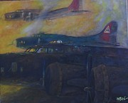 Vintage Aircraft Paintings - To Hell and Back by William Bezik