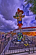 Downtown Disney Photos - To Infinity And Beyond HDR by Jason Blalock