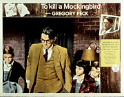 Newscanner Photo Prints - To Kill A Mockingbird, Gregory Peck Print by Everett