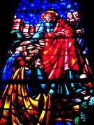 Stain Glass  Work - To Know True Love by Allen n Lehman