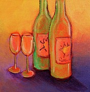 Napa Valley Vineyard Paintings - To Love by Nancy Matus