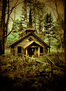 Adirondacks Posters - To Pray Poster by Emily Stauring