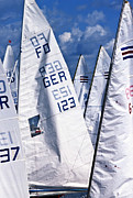 Sails Prints - To Sea - To Sea  Print by Heiko Koehrer-Wagner