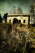 Old Abandoned Houses Photos - To The Abandon by Emily Stauring