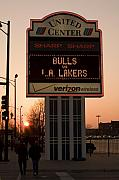 Lakers Prints - To the Bulls Game Print by Andrei Shliakhau