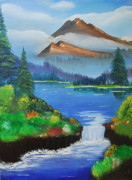 Srija Charthamkudath - To the memory of Bob Ross
