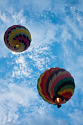 Balloon Fiesta Prints - To The Moon And Back Print by Ralf Kaiser